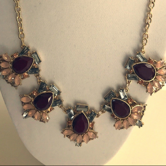 471f606b6aaa8 1920 style vintage MULTI COLOR SAPHIRE NECKLACE